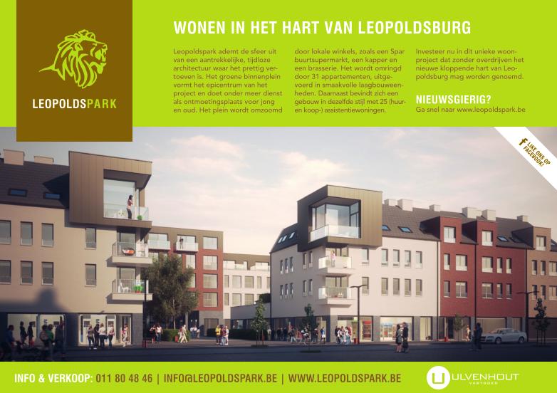advertentie Leopoldspark